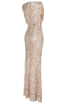 I've picked the Bridesmaid dresses!  Jenny Packham sequin dress  I really quite like the sequins....if used in the right way to make them not too sexy for the church! Z xXx