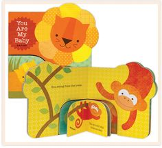 You Are My Baby - Safari: A sweet new board book by Lorena Siminovich of @Petit Collage