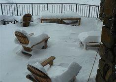 Dit sneeu dik stukke by Tenahead Mountain Lodge. Spa, Mountain, Winter, Travel, Viajes, Destinations, Traveling, Trips