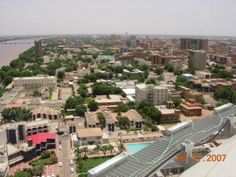 Aerial view of Khartoum, Sudan