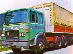 Tigareanu Mihai uploaded this image to 'SR-M/Roman-Dac'. See the album on Photobucket. Big Rig Trucks, Cool Trucks, Old Lorries, Classic Trucks, Diesel Engine, Eastern Europe, Romania, Cars And Motorcycles, Transportation