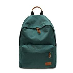 df243dc35f192 Simple Backpack College School Bags Leisure Travel Laptop