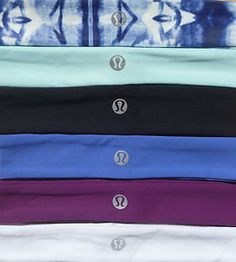 Lululemon Slipless Headband, great for any type of workout! They are the best!