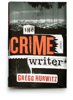 The Crime Writer cover designed by Gregg Kulick for Viking