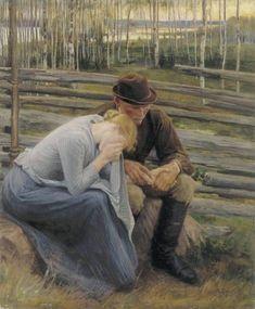 Suru (Sorrow) by Albert Edelfelt, 1894.