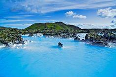 Blue Lagoon Iceland by Halldor Kr Jonsson