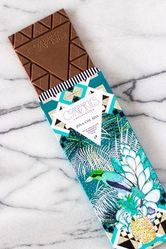 PIÑA COLADA Milk Chocolate Bar
