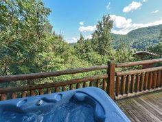 Gatlinburg Cabin Rentals - A Luxury View Pigeon Forge Tn, Pigeon Forge Cabins, Cabins In Gatlinburg Tn, Tennessee Vacation, Outdoor Entertaining, Outdoor Furniture, Outdoor Decor, Scenery, Luxury