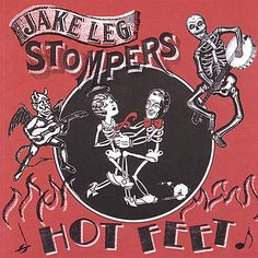 Jake Leg Stompers - Hot Feet, Red