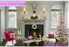 HOW TO DECORATE WITH PINK FOR CHRISTMAS