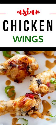 These Asian Chicken Wings are gluten free and perfect for your low carb diet.  With a delicious Asian flair, you can make these in your air fryer or they can be oven baked.  The perfect easy recipe for casual entertaining! #wendypolisi #kickingcarbs #ketorecipes #keto #airfryer #chickenwings #KetoChickenWings #LowCarbRecipes Low Carb Summer Recipes, Low Carb Chicken Recipes, Low Carb Recipes, Healthy Recipes, Healthy Food, Healthy Appetizers, Appetizer Recipes, Dinner Recipes, Appetizer Ideas