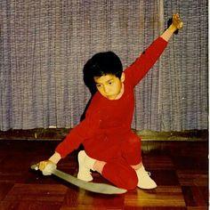 A young Donnie Yen