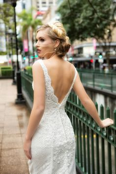 Beautiful Designer Wedding Dresses by Mia Solano Designer Wedding Dresses, Bridal Dresses, Bridal Style, Wedding Styles, Wedding Ideas, White Dress, Beauty, Beautiful, Collection