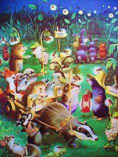 meet the woodland folk by tony wolf. Childhood magic feelings.