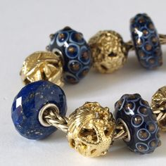 My new Lapis from a collector in Holland!  You will find so  much on Trollbeads Gallery Forum to inspire you!