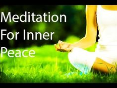 Meditation To Relax Mind, Body for Positive Energy Inner Peace Relaxatio. Inner Peace, Meditation, Relax, Mindfulness, Positivity, Youtube, Keep Calm, Youtubers, Youtube Movies