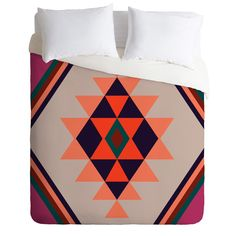 Wesley Bird Desert Sunrise Duvet Cover | DENY Designs Home Accessories