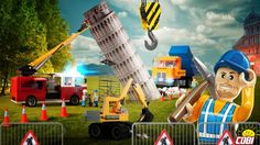 Przez lata Krzywa Wieża się chyliła i chyliła… Czy budowlańcom z #ActionTown uda się ją wyprostować? Na razie widzimy ich działania na Placu Muzealnym w Action Town. Czy podejmą wyzwanie w Pizie?