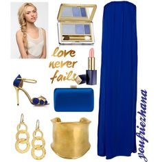 Dark blue by youfriezhana-stardoll on Polyvore featuring polyvore, fashion, style, Young, Fabulous & Broke, Charlotte Olympia, Prada, Gurhan, Emilio Pucci, Estée Lauder and Eva NYC