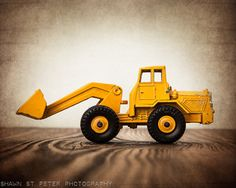 Vintage Toy Front End Loader 8x10 Photographic by shawnstpeter, $20.00