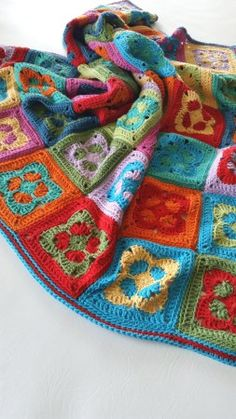Groovin' Crochet Blanket Pattern