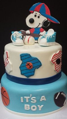 Baby Snoopy, Peppermint Patties, Snoopy And Woodstock, Peanuts Snoopy, Charlie Brown, Babyshower, Birthday Cake, Desserts, Food