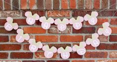 Minnie Mouse Inspired Banner Minnie Mouse by RockyMountainMama1