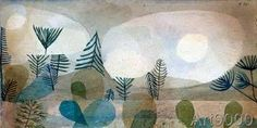 Paul Klee - Oceanische Landschaft