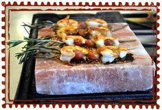 Like a cooking stone, but made from a slab of gourmet salt, our Himalayan Pink Salt Bricks are the latest in culinary innovations, adding a touch of artisan salt and mineral flavor to a wide variety of foods. Long lasting, they store easily and retain their gift of pure, mineral flavor for years. Heated on the grill or a gas stove, the slabs can be lightly brushed with oil and used to sear vegetables, shrimp, fish fillets or thinly sliced beef.