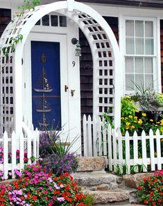 Coastal Cottage - Sail On In - Giclee Print