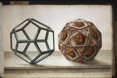Premodern 3D design It may be hard to believe, but this illustration is over 400 years old. It's from the age of the Renaissance, when folks loved perfect shapes and measurements. They enjoyed experimenting with geometry, but also with perception - and deception, for that matter. And so illustrations like this were produced: perfect three-dimensional designs in a two-dimensional space (the page). This one is part of a book with 97 drawings made by Lorenz Stör, a late-16th-century ...
