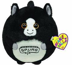Ty Black NBA Basketball San Antonio Spurs Beanie Ballz Balls