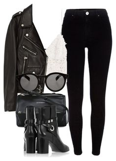 Untitled #6491 by laurenmboot on Polyvore featuring polyvore, fashion, style, Zara, Jakke, River Island, Isabel Marant, Givenchy, Illesteva and clothing