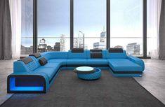 Sofa Dreams Sofa »Berlin«, U Form XXL, Hochwertige Verarbeitung und beste Materialien online kaufen | OTTO Red Leather Sectional, Home Sofa, Outdoor Furniture Sets, Outdoor Decor, Living Room Sofa, Sun Lounger, Couch, Home Decor, Sofa