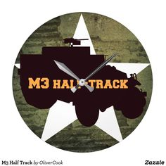 Tick great timepieces off the list with fantastic Army clocks from Zazzle. Personalise pre-existing designs or create your own one-of-a-kind wall clock today! Track, Army, Gi Joe, Runway, Military, Truck, Running, Track And Field