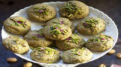 Pistachio Cookies By Najmieh Batmanglij | American Pistachio Growers