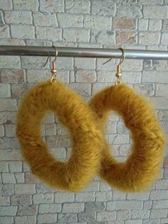 Boho Earrings, Crochet Earrings, Jewelry, Jewlery, Jewerly, Schmuck, Jewels, Jewelery, Fine Jewelry