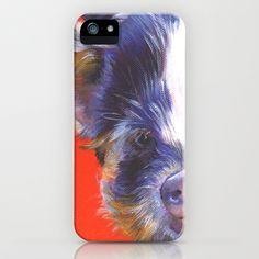 Boris iPhone & iPod Case by Alison Jacobs Animal Art - $35.00