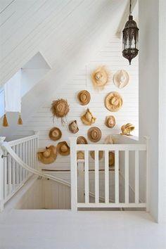Hats wall