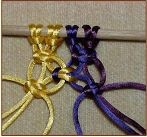 macrame for hemp headband