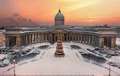 """""""Catedral de Nossa Senhora de Cazã"""". #São Petersburgo, Rússia."""