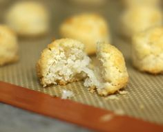 """Detox"" Coconut Macaroons! (Ingredients: Shredded Unsweetened Coconut + Vanilla Extract + Stevia/Maple Syrup) SO GOOD!!!"