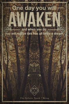 One Day You Will Awaken