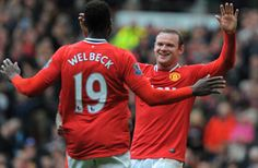 Manchester United boss Sir Alex Ferguson believes strike pair Wayne  Rooney and Danny Welbeck could emulate the Old Trafford goal-scoring  havoc once wreaked by Dwight Yorke and Andy Cole.