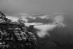 Snowy Grand Canyon, His Majesty Photo by Veronika Pekkerne Toth -- National Geographic Your Shot