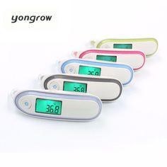 Yongrow Bebé Fiebre Del Termómetro Médico Termómetro de Oído Infrarrojo Termómetro Digital Termómetro del Cuerpo Adulto