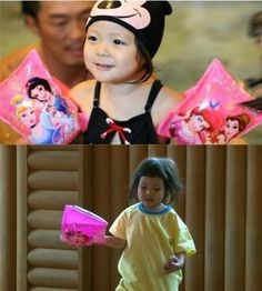Fan favorites Choo Sarang and Haru spent time doing what they love most on 'Superman is Back'!