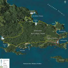 Rakiura Track - Stewart Island - New Zealand Department of Conservation - GreatWalks.co.nz