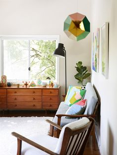 colorful midcentury