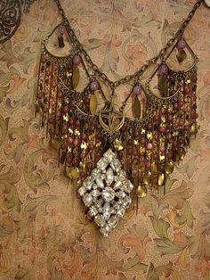 Dripping Chandelier Necklace